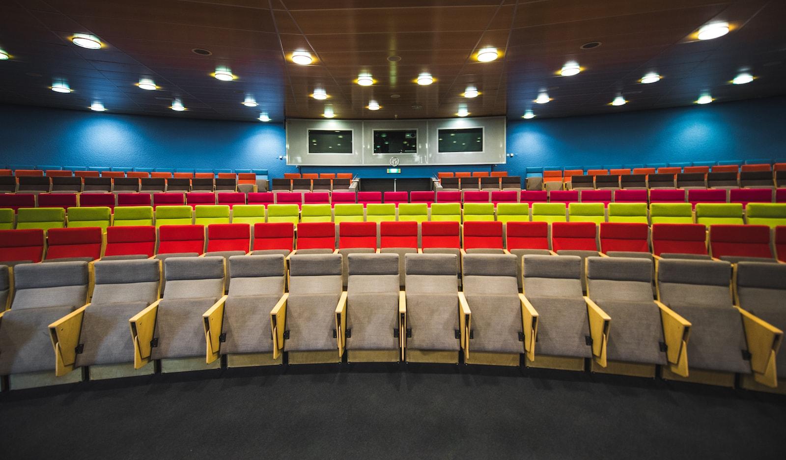 Een congreslocatie met een uniek auditorium